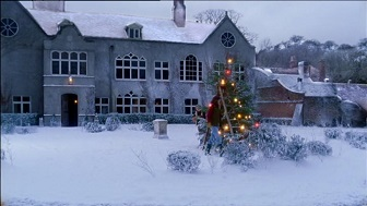 Midsomer Murders Ghosts Christmas Past snowy house small