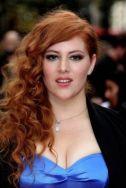 ceacf9c3a24d842095e3a3cca50ea619-bridesmaid-hairstyles-ginger-girls