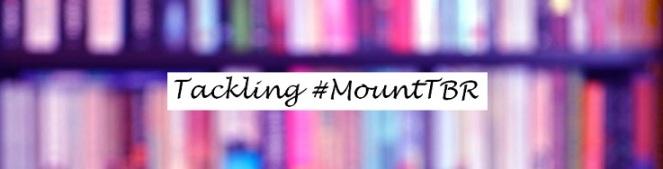 Book banner Tackling Mount TBR text smaller 75