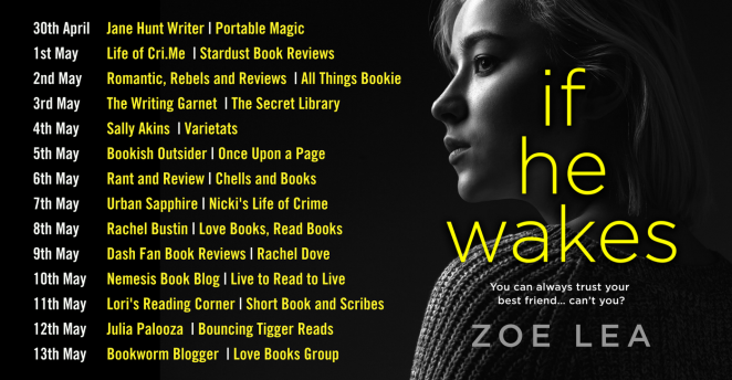 If He Wakes Blog Tour Banner