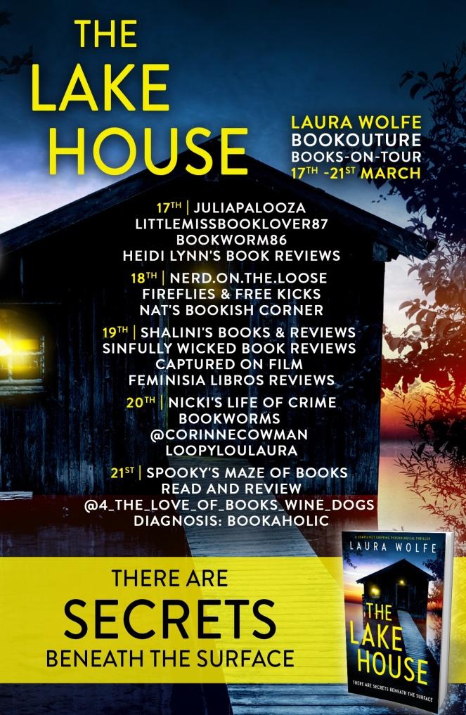 the lake house - blog tour